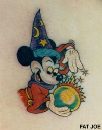 mickey mouse fantasia tattoo