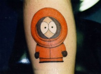 southpark kenny tattoo