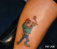 tazmanian devil tattoo